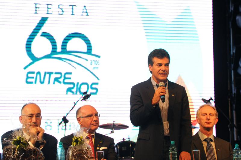 Abertura oficial da Festa dos 60 anosAbertura oficial da Festa dos 60 anos