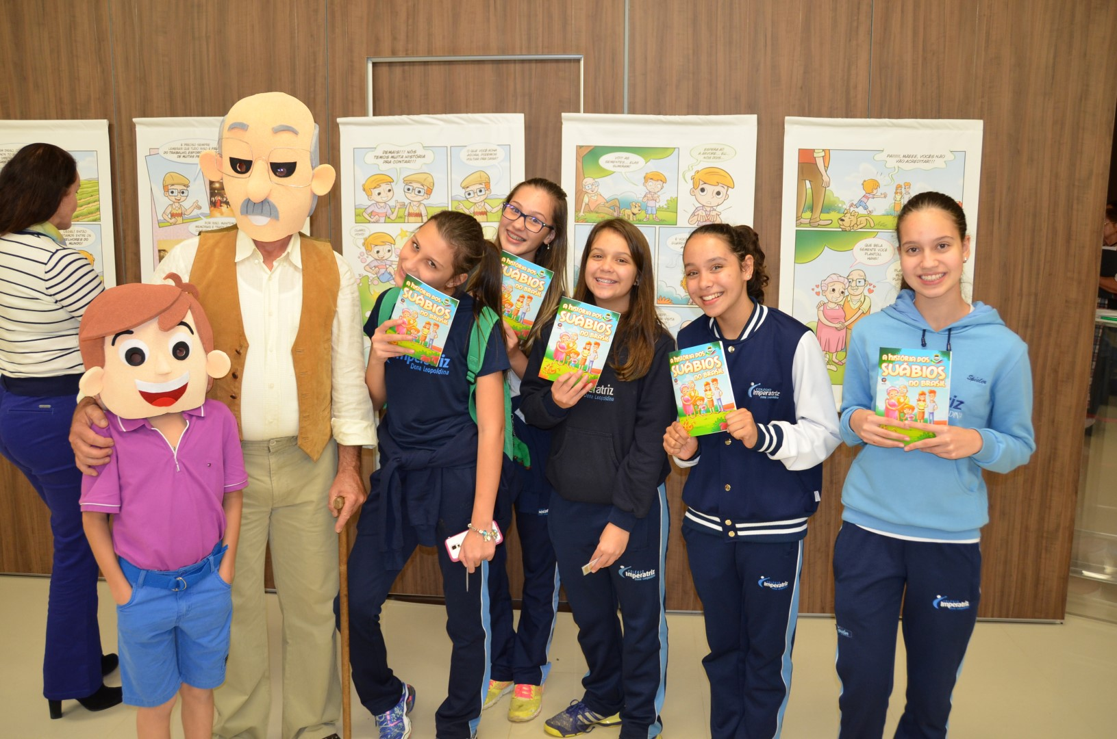 Lançamento da revista em quadrinhos: A história dos Suábios no Brasil - 16/05/16Lançamento da revista em quadrinhos: A história dos Suábios no Brasil - 16/05/16