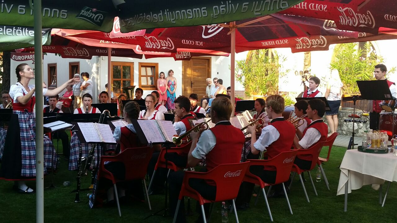 Orquestra de Sopros em Gánt - 24.07.2016Orquestra de Sopros em Gánt - 24.07.2016