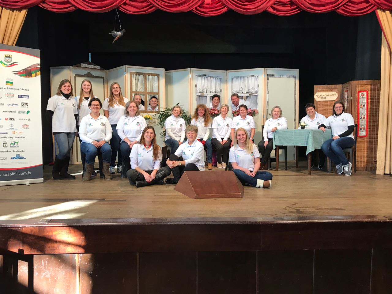 Grupo de teatro Thomas Schwarz em Blumenau - 22.07.2017 Grupo de teatro Thomas Schwarz em Blumenau - 22.07.2017