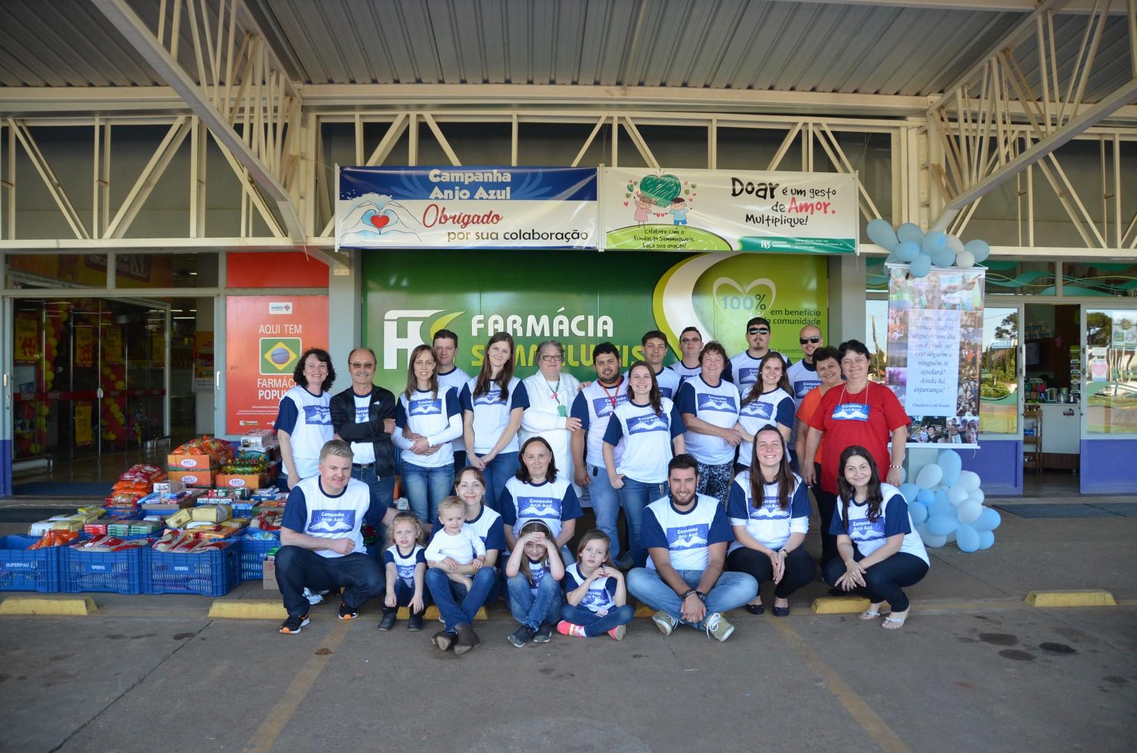 Campanha Anjo Azul 2017 - Foram arrecadados 1.700 kg de alimentos e R$ 1.800,00Campanha Anjo Azul 2017 - Foram arrecadados 1.700 kg de alimentos e R$ 1.800,00