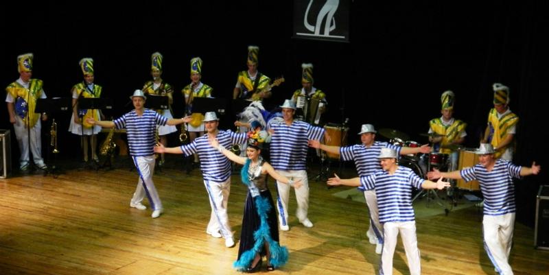 Grupo de danças da FCSB lança turnê européia