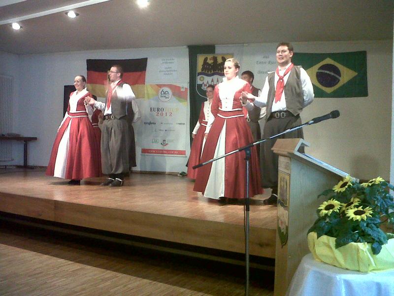 Turnê européia do Grupo de Danças por Norbert Geier