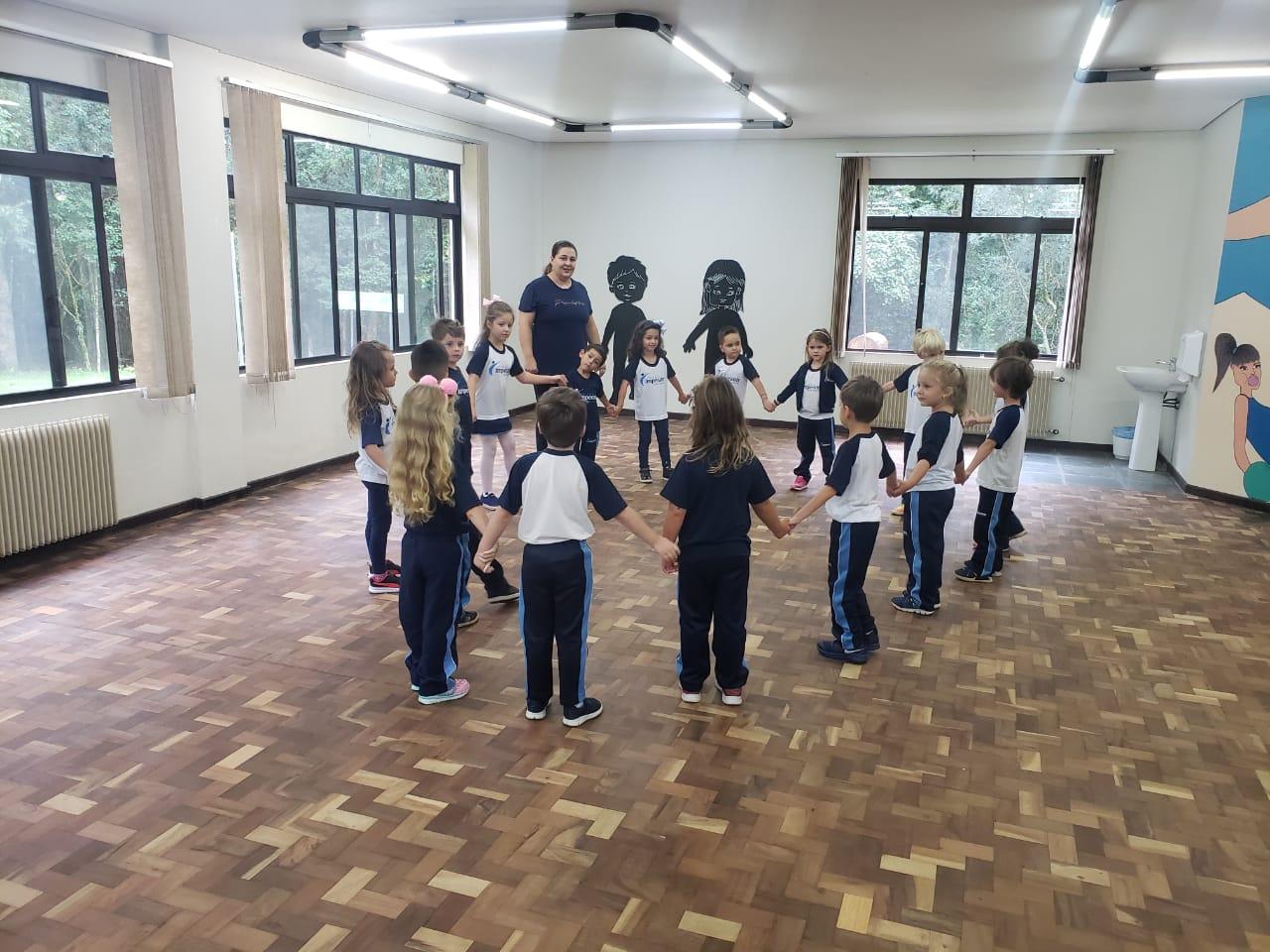 Início das aulas de dança - 06/02/2019