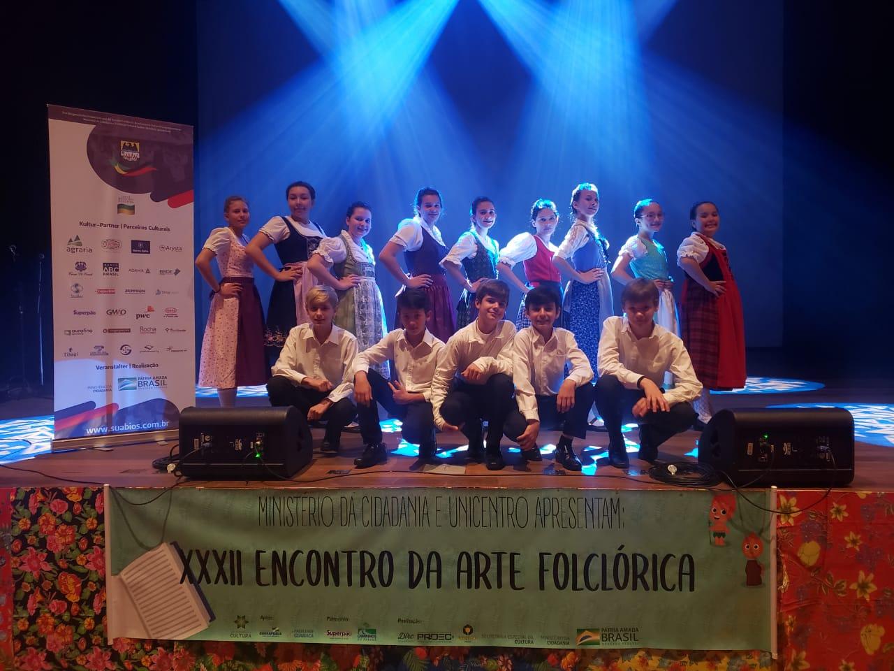 Grupo Folclórico Juvenil da FCSB no XXXII Encontro da Arte Folclórica - 21/08/2019Grupo Folclórico Juvenil da FCSB no XXXII Encontro da Arte Folclórica - 21/08/2019