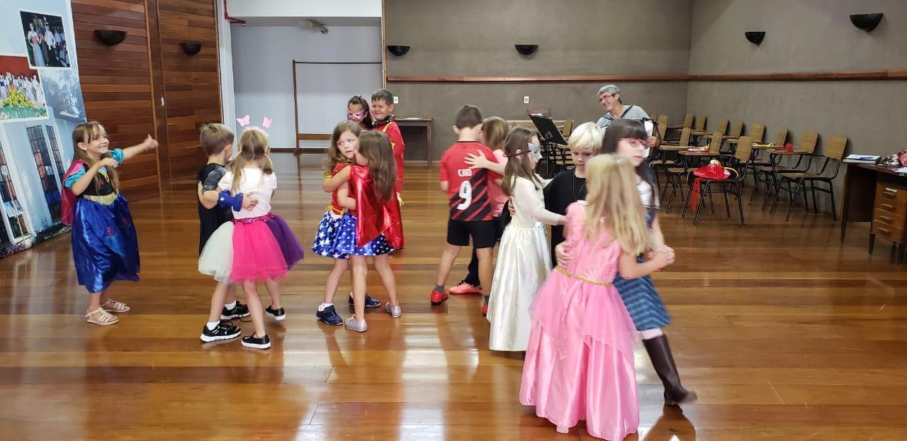 Ensaios dos Grupos de Dança